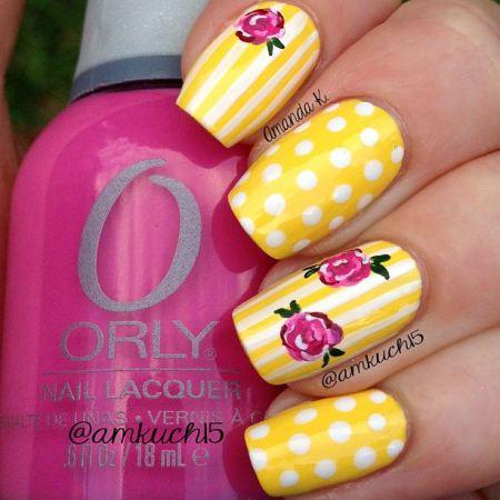 unhas-pintadas-esmalte-amarelo (13)