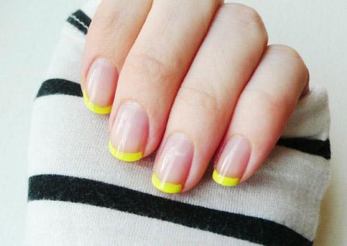 unhas-pintadas-esmalte-amarelo (9)