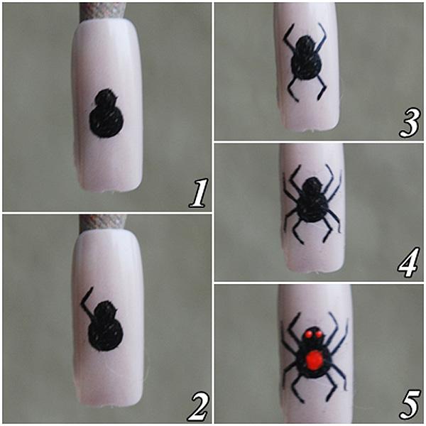 Mini tutorial como desenhar aranha