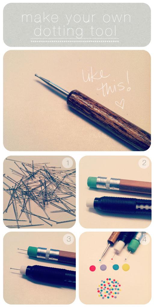 como fazer pincel para as unhas