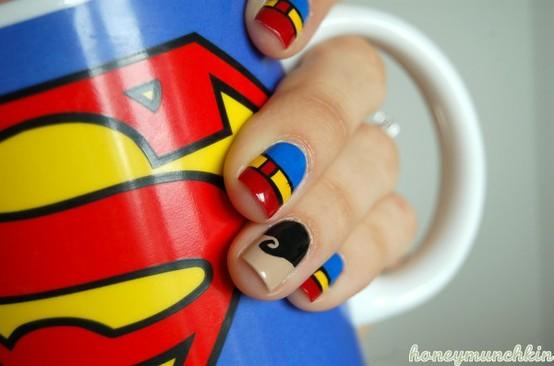 Unhas de Super Heróis