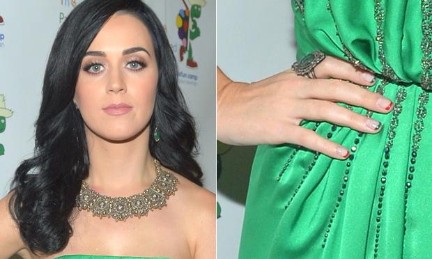 Unhas da Katy Perry