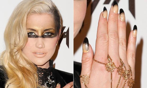 Unhas Decoradas Kesha