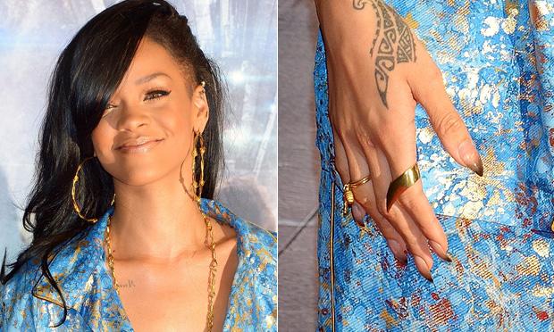Unhas da Rihanna
