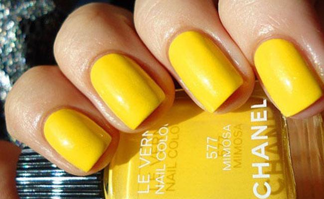 unhas-pintadas-esmalte-amarelo (16)