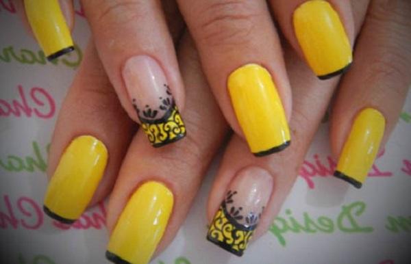 unhas-pintadas-esmalte-amarelo (6)