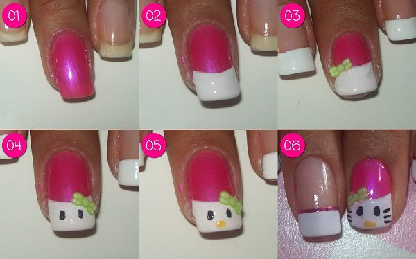 Mini tutorial Hello Kitty