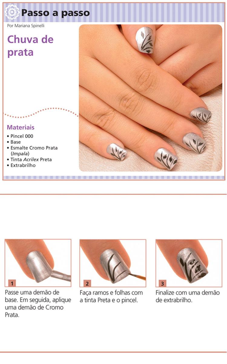 Mini tutorial chuva de prata