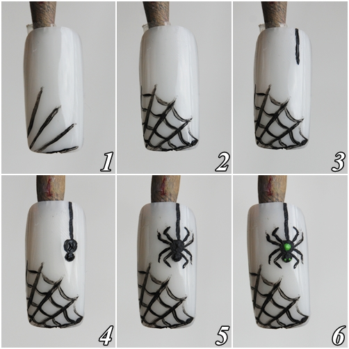 como desenhar aranha