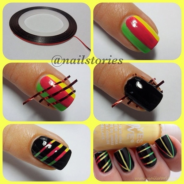 Tutorial Unhas Rastafari