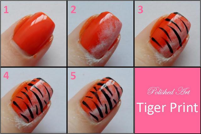 Tutorial Unhas de Tigre