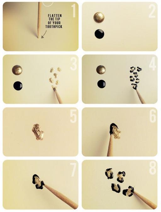 Como fazer unhas decoradas de oncinha