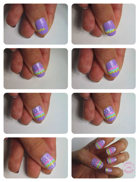 Tutorial unhas tribais
