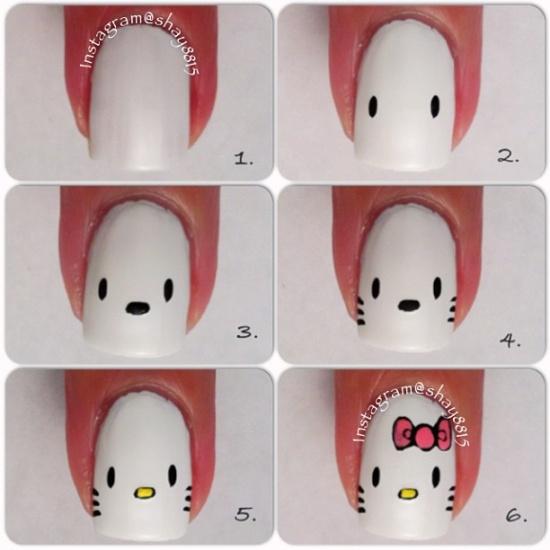 Tutorial desenhar a Hello Kitty