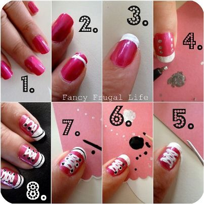 Mini Tutorial All Star Pink