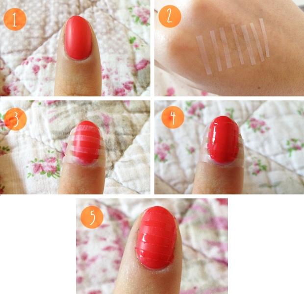 Tutorial unhas em vermelho em camadas