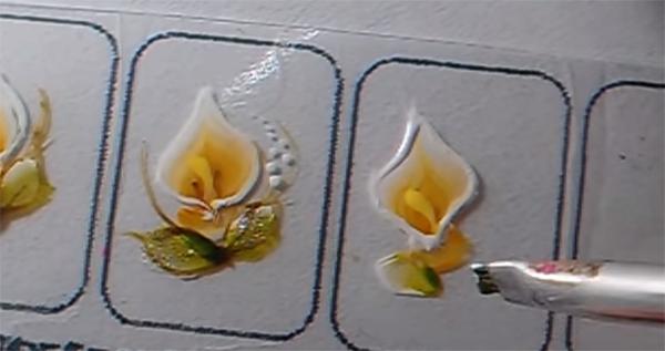 Tutorial Adesivo Caseiro Desenho De Flor Copo De Leite
