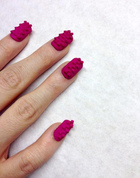 unhas decoradas com impressora 3D (4)