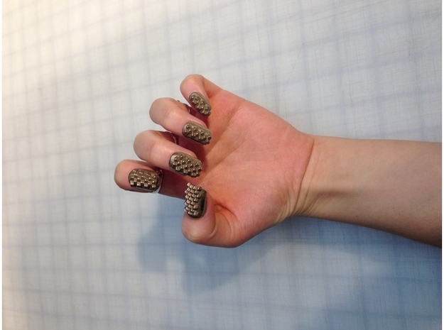 unhas decoradas com impressora 3D (9)