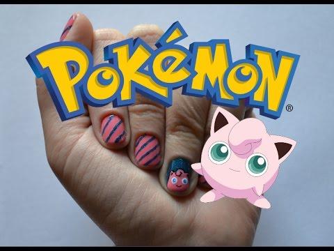 unha-decorada-pokemon-passo-a-passo