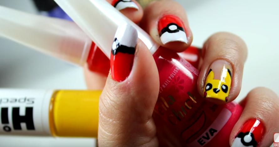 unhas-pikachu